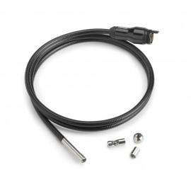 Cabeza de cámara de 6 mm con cable de 1 m