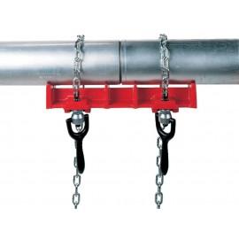 Prensa para soldar tubos
